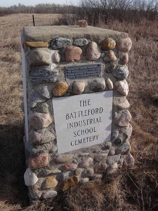 Indigenous Residential School Cemetery Marker