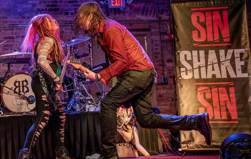 Lauren Phillips on Stage with Stacy Hogan