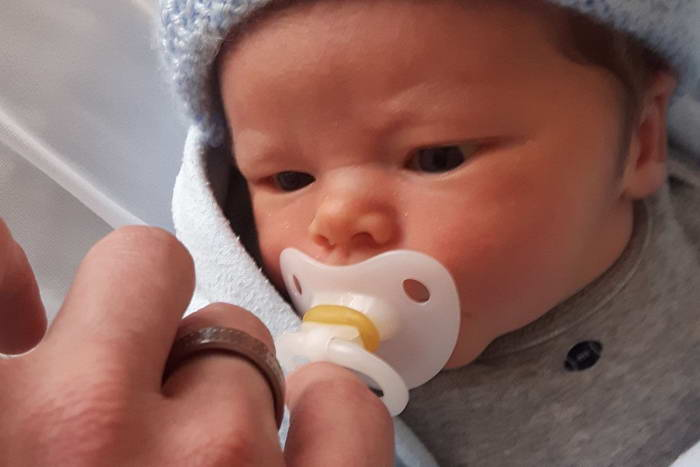 Mason Mitchell makes Dylan a Dad