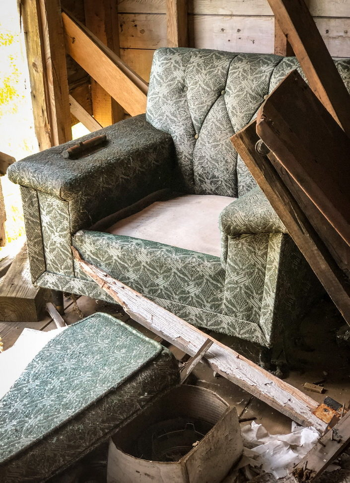 Gallery Chair and Rubble