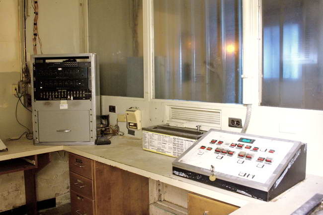 Chatham Jail Control Room