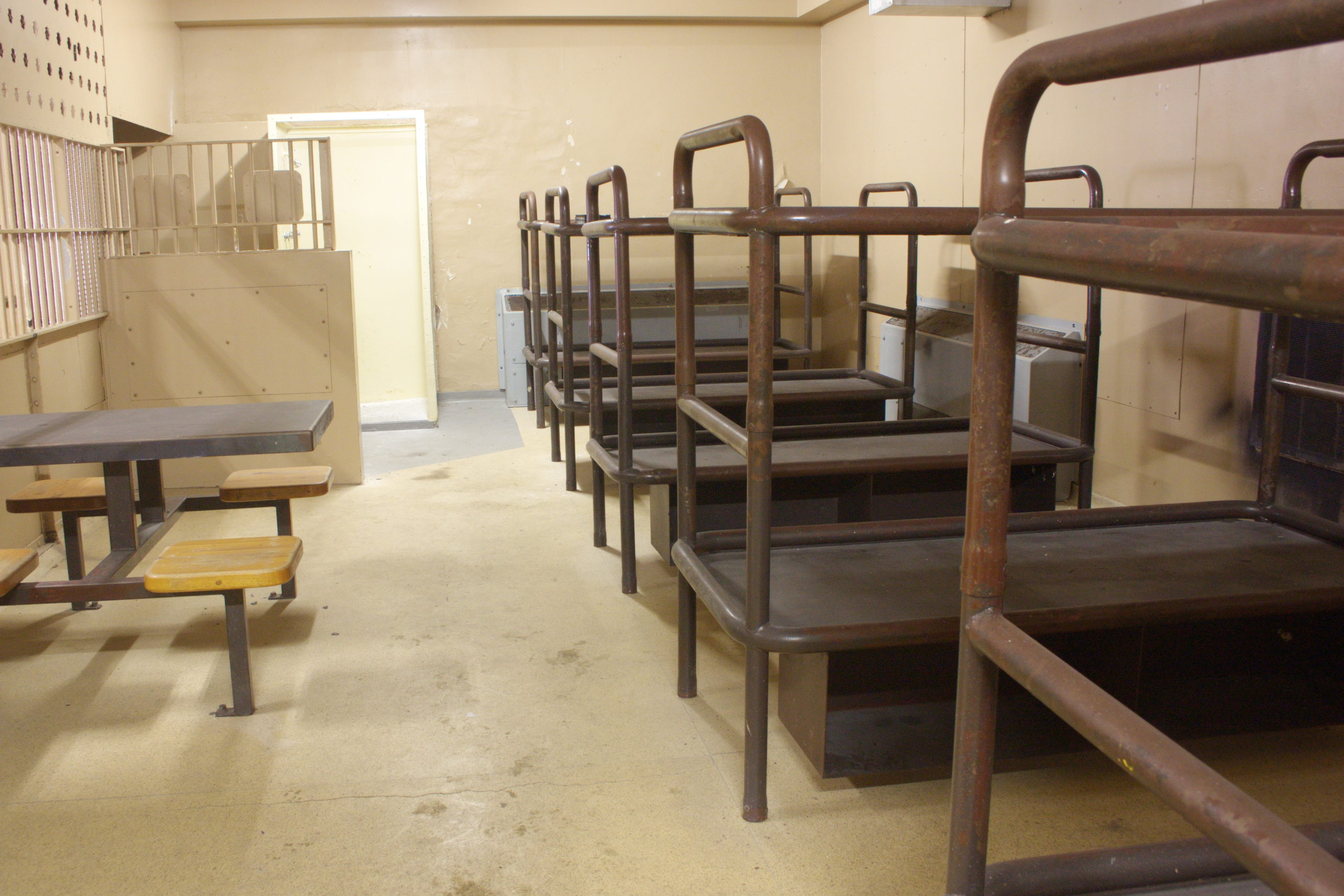 Chatham Jail Dormitory Cell