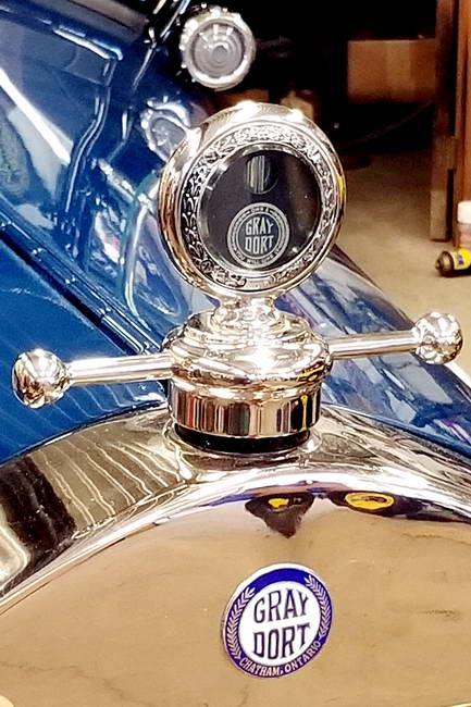 Gray-Dort Radiator Cap