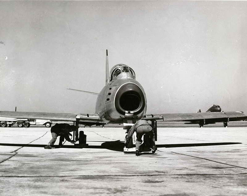 F-86 of 97th