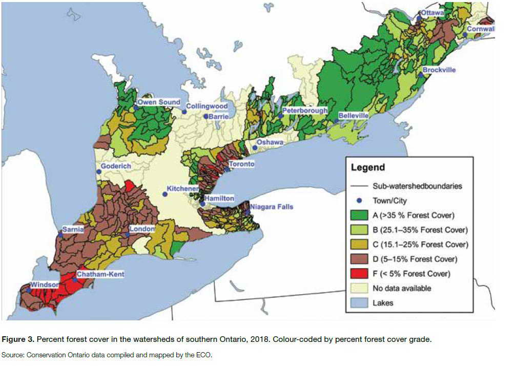 Provincial Forest Coverage
