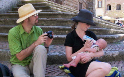 The Baby Was Four Months Old When We Took Him To Italy