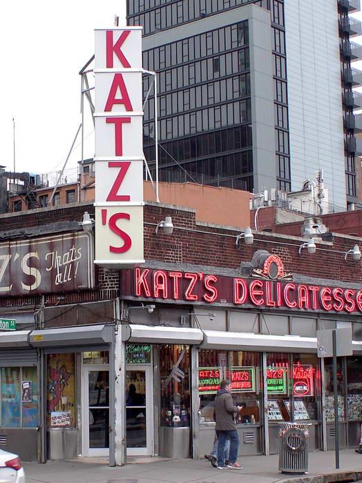 Katz's Deli in New York