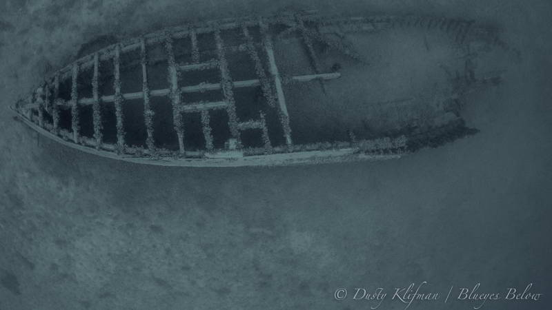 The Elmwood Wreck from Above