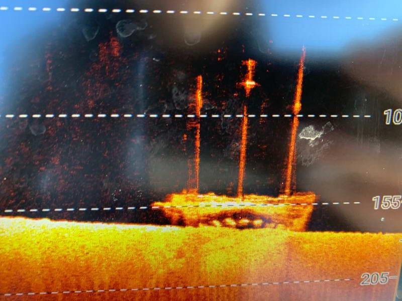 Newell Eddy Sonar Image