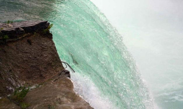 In 1827 A Buffalo Sailed Over Niagara Falls