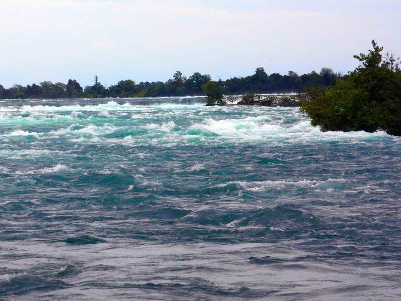 Rapids Above Niagara Falls